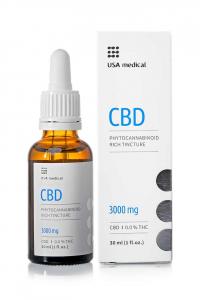 USA Medical CBD olaj 30ml - 3000mg